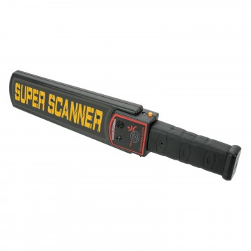 Handheld Battery Powered Metal Detector Security Search Wand