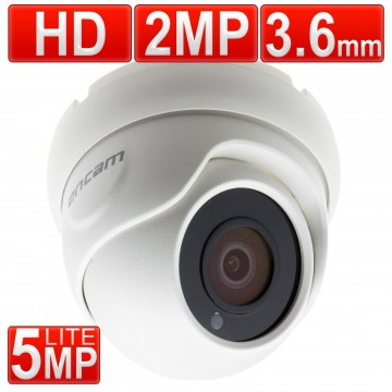 encam CCTV AHD 2MP/1080P/5MP Lite 3.6mm Security Dome Camera...