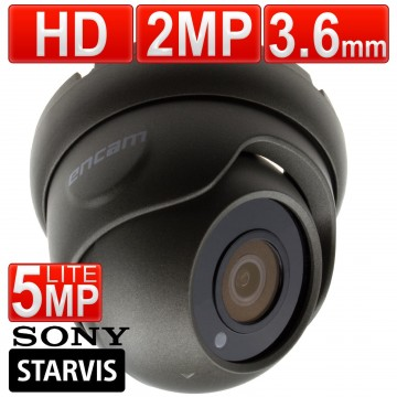 encam CCTV AHD Sony Starvis 2MP/1080P/5MP Lite 3.6mm Security...