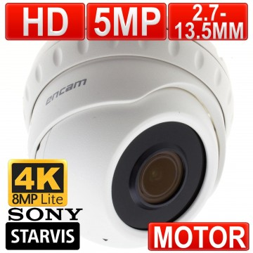 encam Motorised Auto Focus CCTV AHD Sony Starvis 5MP/4K Lite...