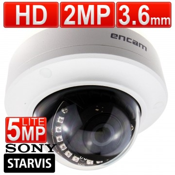 encam Mini IR CCTV AHD Sony Starvis 2MP/1080P/5MP Lite 3.6mm...