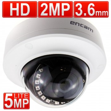 encam CCTV AHD 2MP/1080P/5MP Lite 3.6mm Security Anti-Vandal...