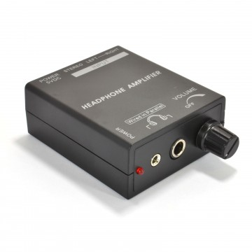 TV Headphone Amplifier With Volume Control for TVs without...