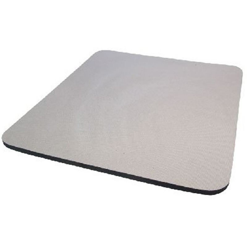 Grey Mouse Mat 6mm Foam Backed