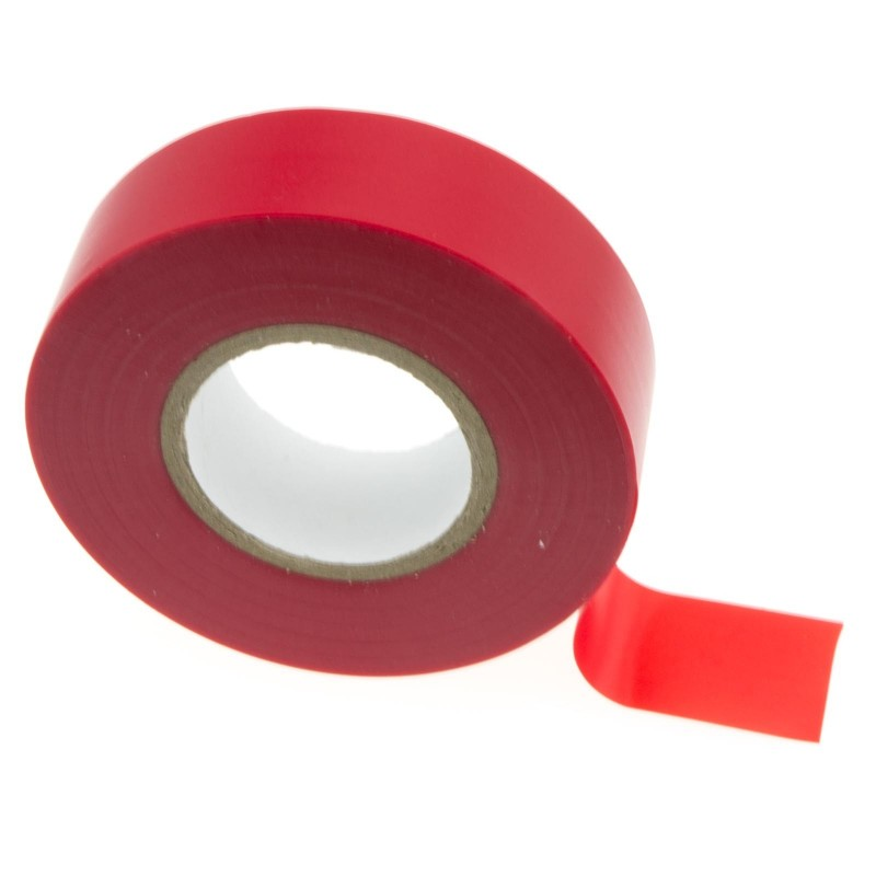 PVC Electrical Wire Insulation/Insulating Tape 19mm x 20m Red