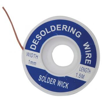 Mercury Pop Open 1mm Desoldering Copper Braid Solder Wick 1.5m