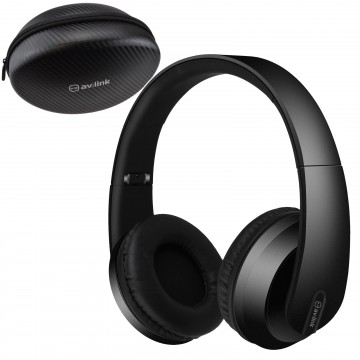 Satin Wireless 4.2 Bluetooth Fold Away Headphones with Carry Case