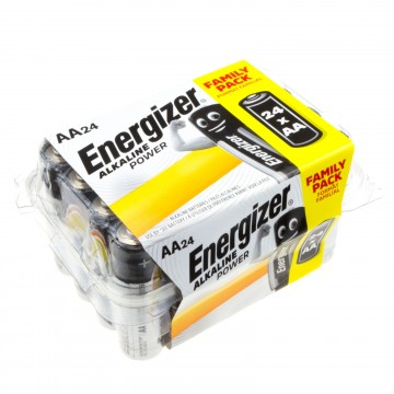 Energizer Alkaline Power Family Pack AA Batteries [24 Pieces]