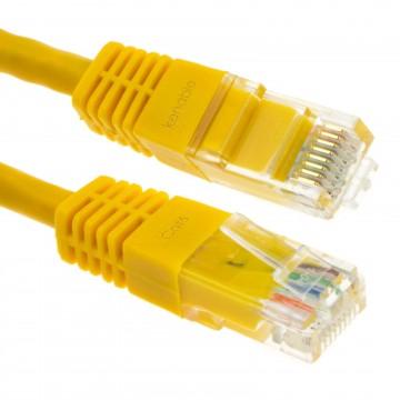 Ethernet Netzwerk Kabel CAT6 Gigabit RJ45 Kupfer Internet...
