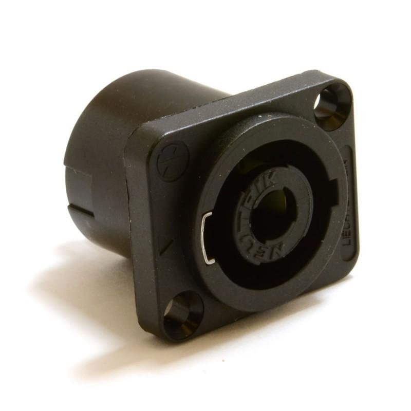 Neutrik 4 Pole Speakon Chassis Mount PA Speaker Solder Terminal Socket