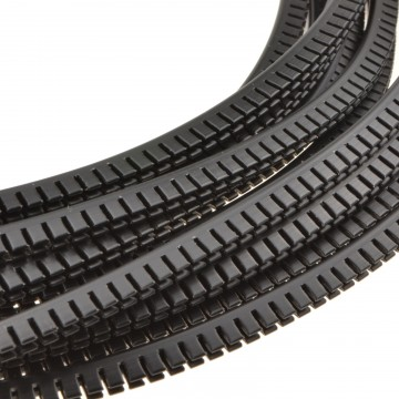Rubber Edging for 19 inch Data Cabinets Prevents Cable Damage 10m