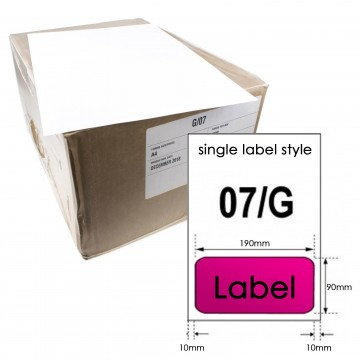 A4 Paper with Integrated Peel Off Label for Invoice/Shipping...