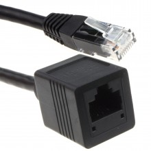 Network CAT6 UTP Ethernet RJ45 Extension Male/Female Cable...