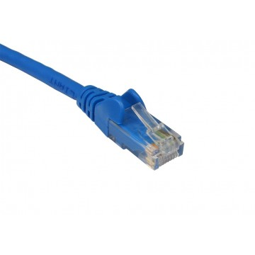 C6 CAT6-CCA UTP RJ45 Ethernet LSZH Networking Cable Blue  2m
