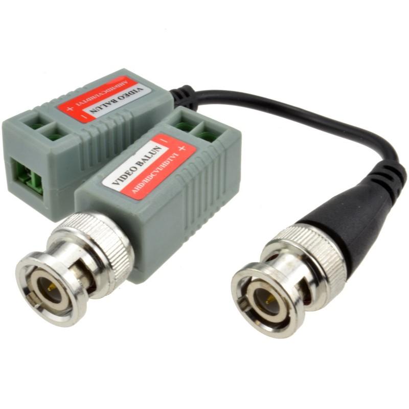 BNC mâle vers F femelle Adaptateur CCTV System Sécurité Vidéo Prise Fiche