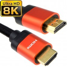 HDMI v2.1 Ultra High Speed HDR 8K/4K 60Hz 48Gbps eARC Cable 2m...