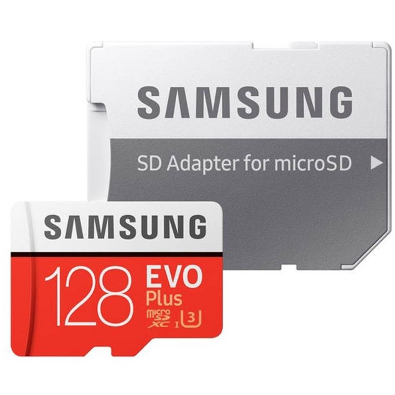 Samsung 128GB EVO Plus MicroSD Memory Card for Android/Mobile Phone U3 4K Video