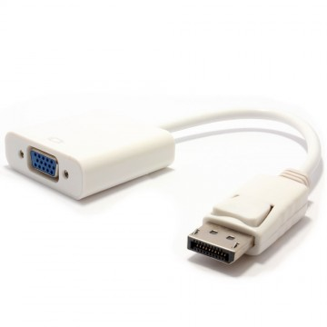 DisplayPort Male Plug to 15 pin SVGA/VGA Female (Monitor Lead)...
