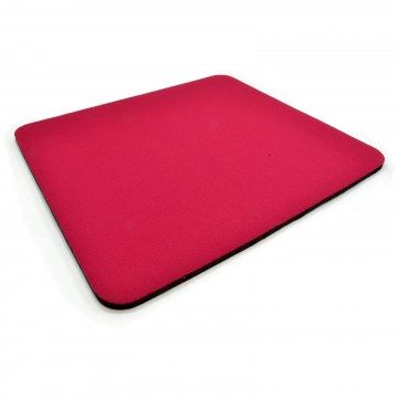 RED Mouse Mat 6mm Foam Backed