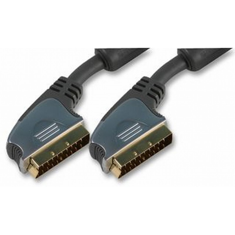 Ultra Pure Scart Cable OFC with Ferrites -  5m