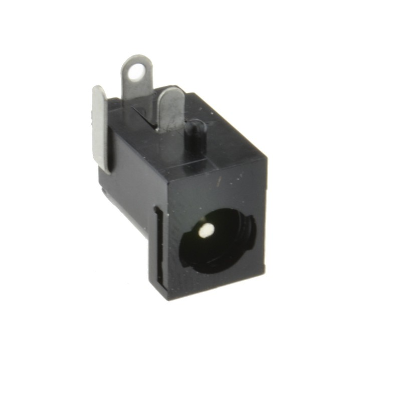 2.1mm x 5.5mm LOCKING Socket Solder Terminal for DC Power Connectors