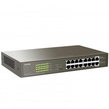 Tenda 16 Port Network Switch 16 POE RJ45 GIGABIT for Internet or CCTV