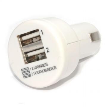 USB Car Cigarette Charger 2 Port for Mobile Phones & Tablets 2...