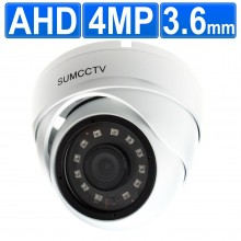 4MP AHD Indoor/Outdoor CCTV HD Security Dome Camera 20m IR
