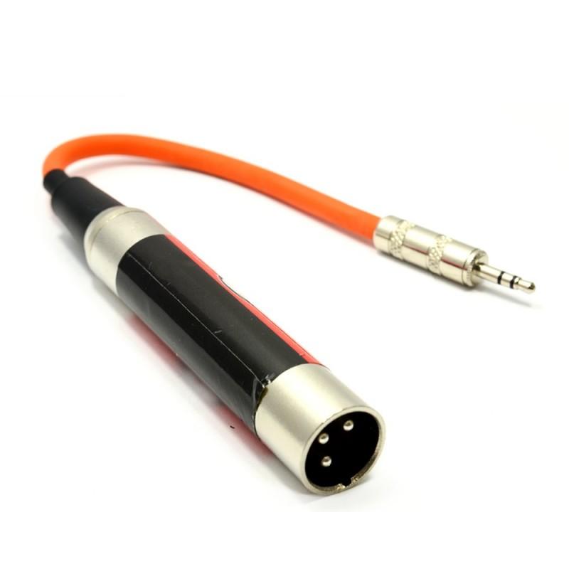 Audio Transformer Lead 3.5mm Jack to XLR Male Plug AV Stereo/Mono