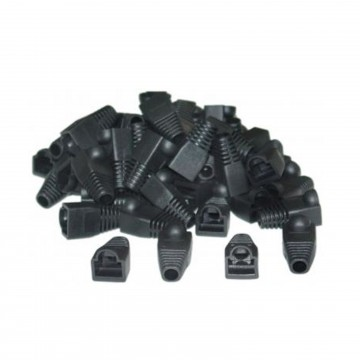 Boot for RJ45 Ethernet Network Cables BLACK [100 Pack]