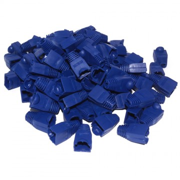 Boot for RJ45 Ethernet Network Cables BLUE [100 Pack]