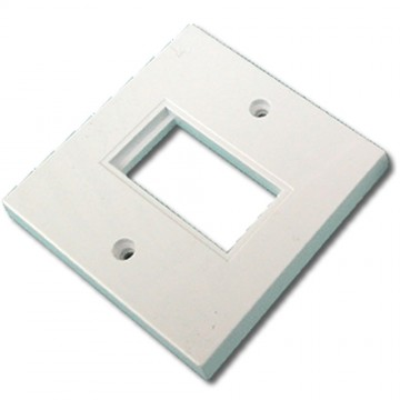 Faceplate 1 Port 86 x 86mm Single Port Low Profile  for RJ45...