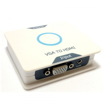 VGA & Audio to HDMI Digital Output ADC Converter with USB Power